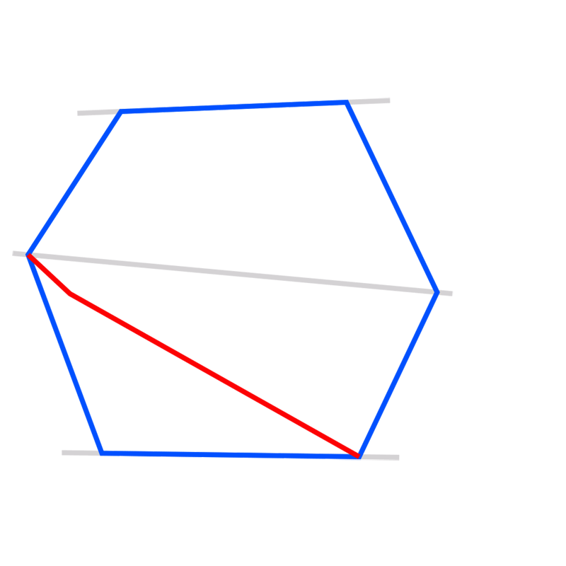 Learn easy to draw 3D Hexagon 03