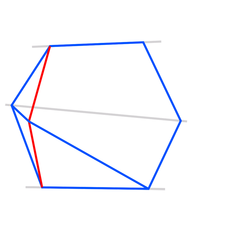 Learn easy to draw 3D Hexagon 04