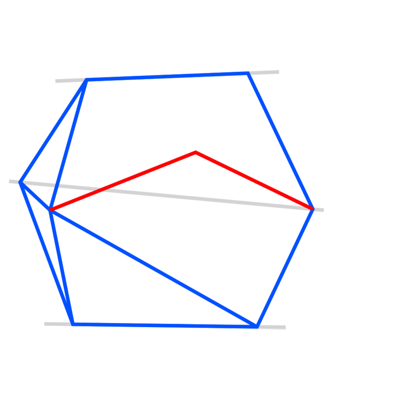 Learn easy to draw 3D Hexagon 05