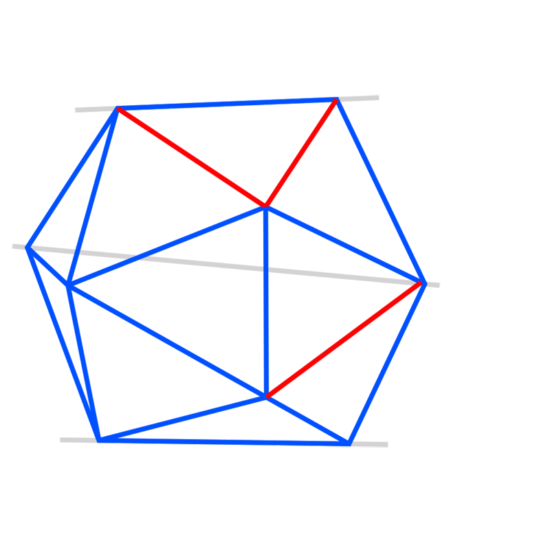 Learn easy to draw 3D Hexagon 07