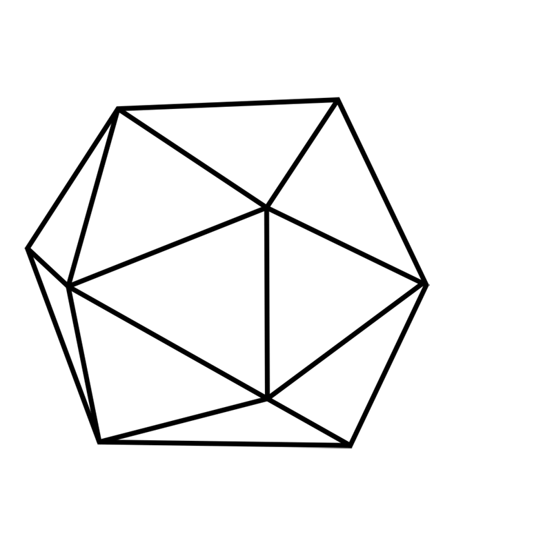 Learn easy to draw 3D Hexagon 08