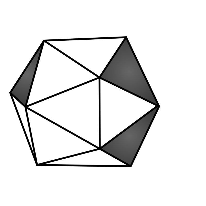 Learn easy to draw 3D Hexagon 09