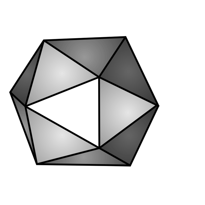 Learn easy to draw 3D Hexagon 11