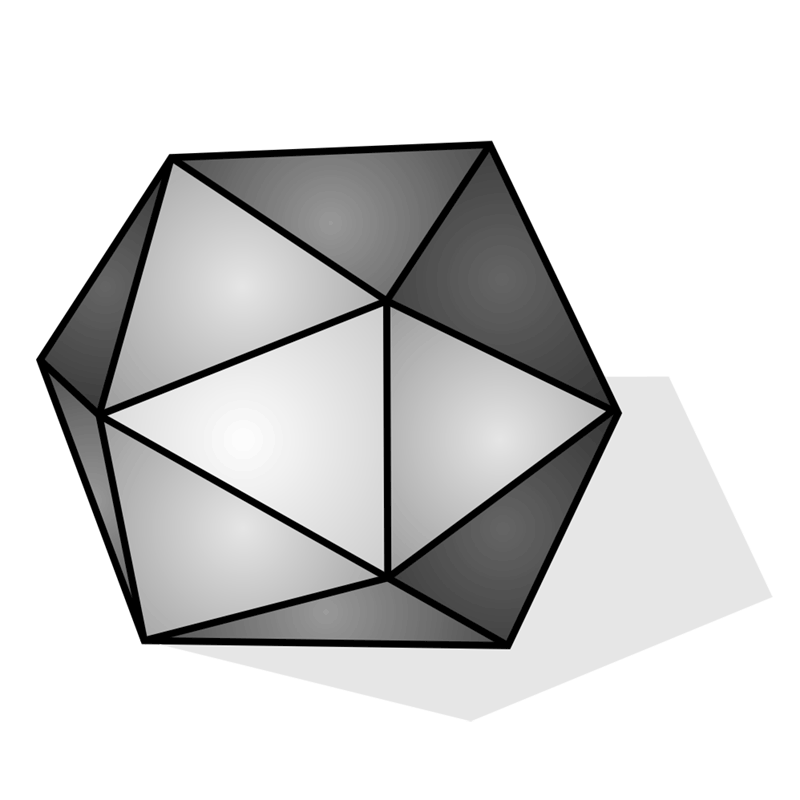Learn easy to draw 3D Hexagon 12