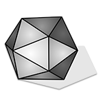 Learn easy to draw 3D Hexagon icon