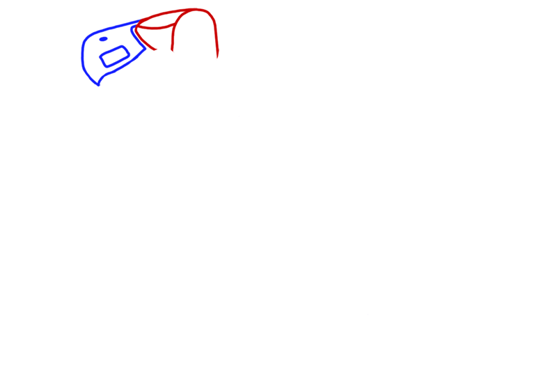 Learn easy to draw Ariel Atom 500 step 02