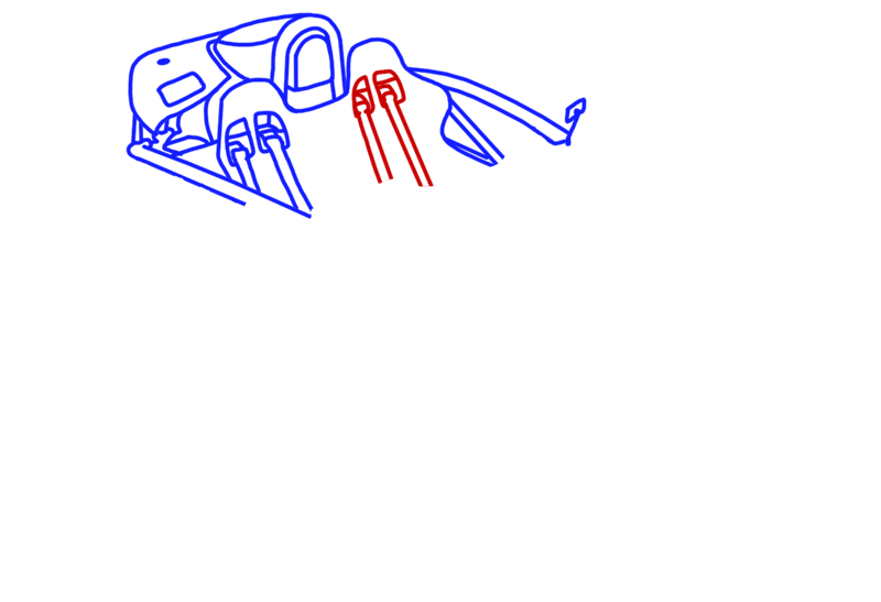 Learn easy to draw Ariel Atom 500 step 07