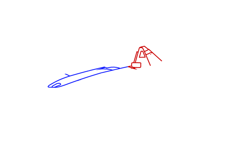 Learn easy to draw BAC Mono step 02