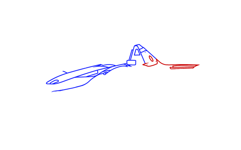 Learn easy to draw BAC Mono step 04