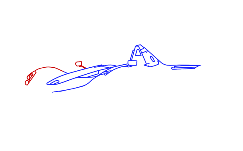 Learn easy to draw BAC Mono step 05
