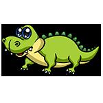 Learn easy to draw Cute Crocodile icon