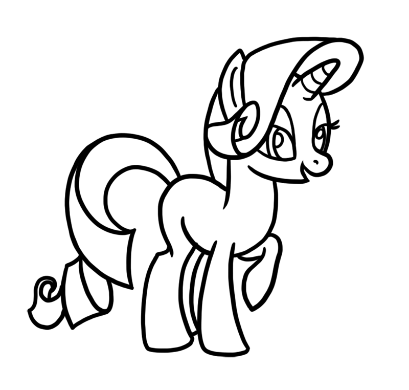 Learn easy to draw Cute Pony step 06
