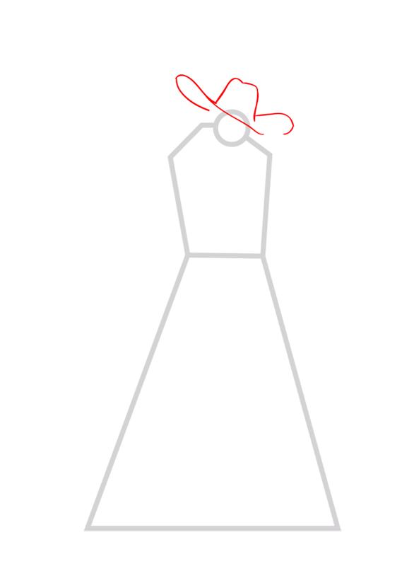 Learn easy to draw Dracule Mihawk One Piece step 02