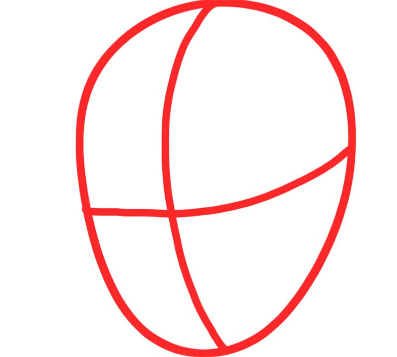 Learn easy to draw Edward Elric Fullmetal Alchemist step 01