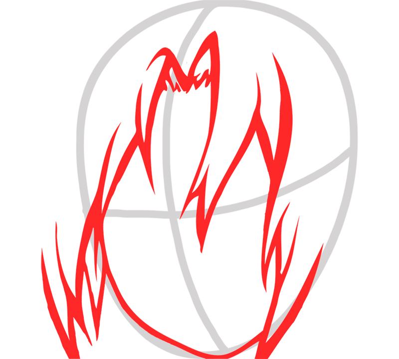 Learn easy to draw Edward Elric Fullmetal Alchemist step 02