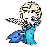 Learn easy to draw Elsa Queen Chibi icon