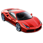Learn easy to draw Ferrari 488 GTB icon