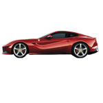 Learn easy to draw Ferrari F12 icon