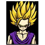 Learn easy to draw Gohan Dragon Ball Z icon
