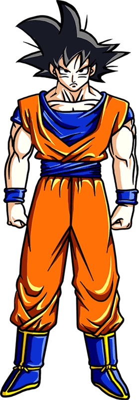 Learn easy to draw Goku Dragon Ball Z step 00