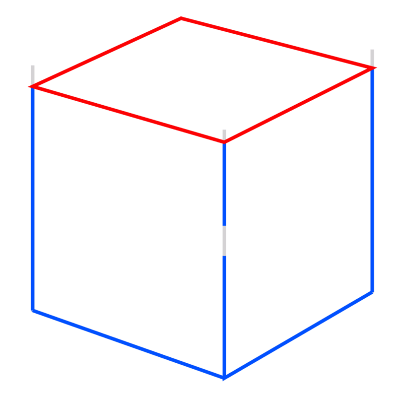 Learn easy to draw Impossible Cube step 04
