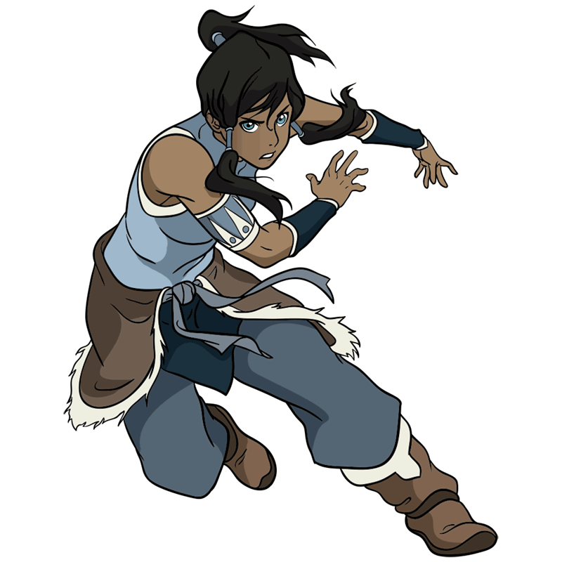 Learn easy to draw Korra Avatar step 00