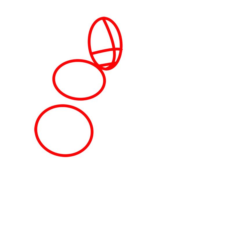 Learn easy to draw Korra Avatar step 01
