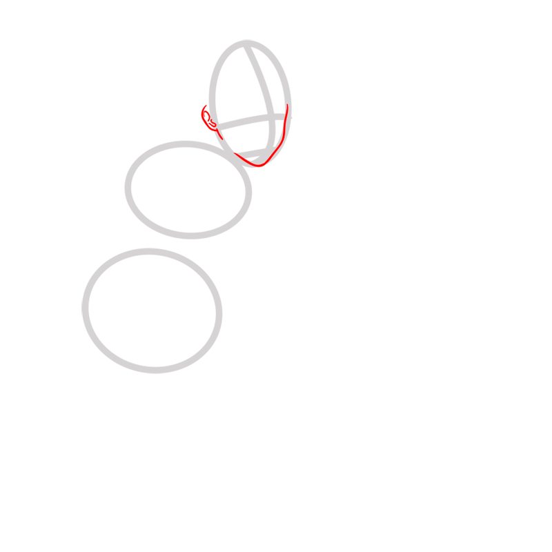 Learn easy to draw Korra Avatar step 02