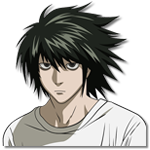 Learn easy to draw L Lawilet Death Note icon