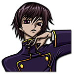Learn easy to draw Lelouch Lamperouge Code Geass icon