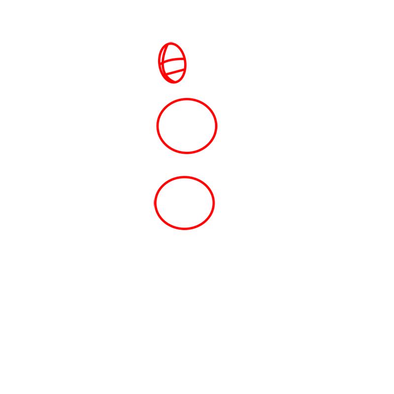 Learn easy to draw Mako Avartar step 01