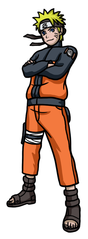 Learn easy to draw Naruto Naruto step 10