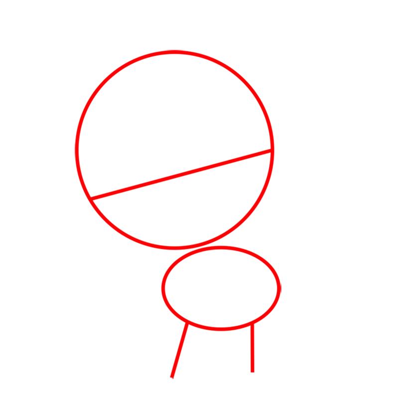 Learn easy to draw Pretty Pony step 01