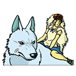 Learn easy to draw Princess Mononoke Ghibli Characters icon