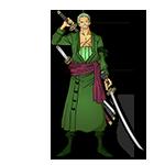 Learn easy to draw Roronoa Zoro One Piece icon