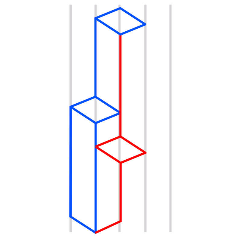 Learn easy to draw Skyscrapers step 05