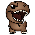 Learn easy to draw Tiranosaurus icon