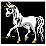 Learn easy to draw White Unicom icon