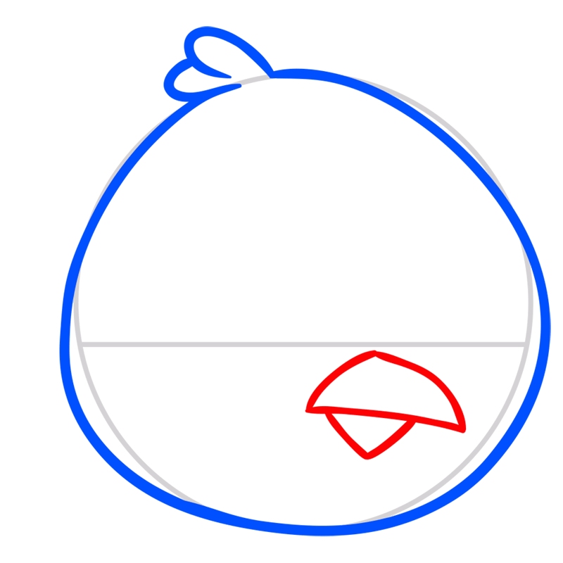 Learn easy to draw Big Brother step 03