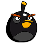 Learn easy to draw Black Bird icon