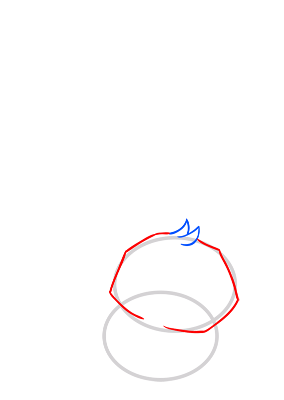 Learn easy to draw Bunny step 03