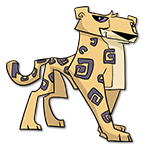 Learn easy to draw Cheetah icon