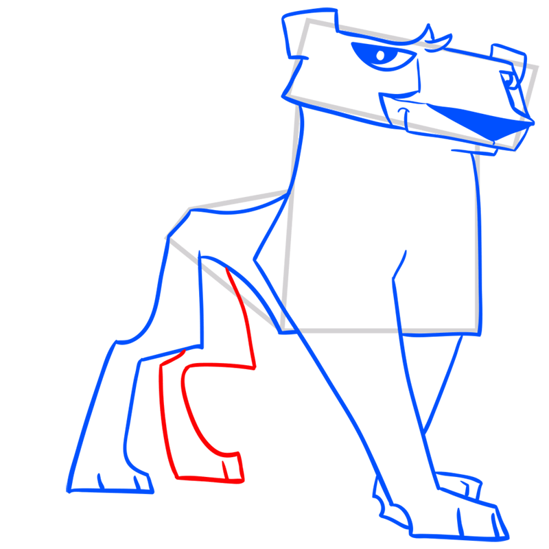 Learn easy to draw Cheetah step 10