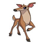 Learn easy to draw Deer icon