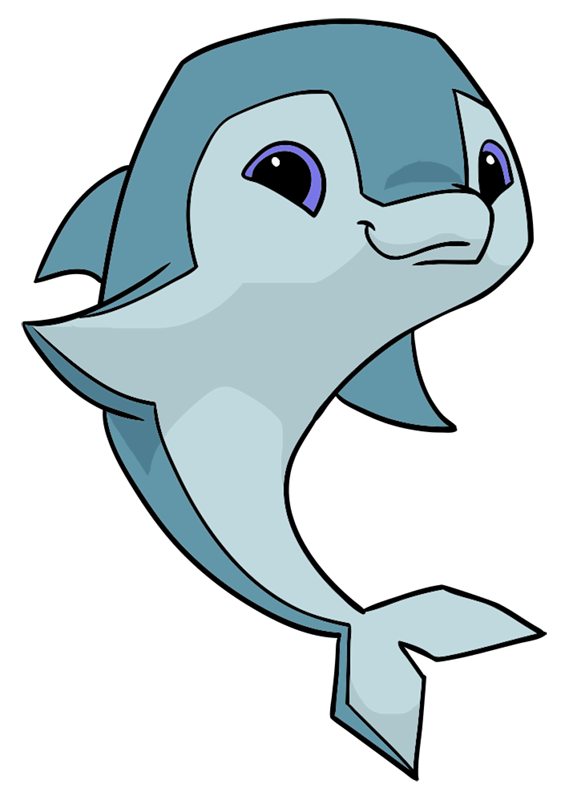 Learn easy to draw Dolphin step 11