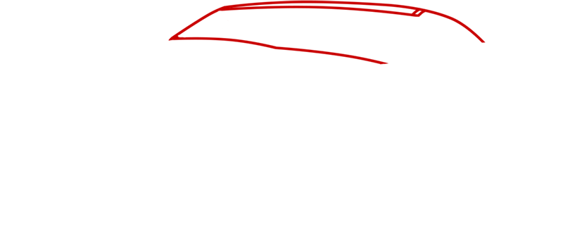 Learn easy to draw Ford GT step 01