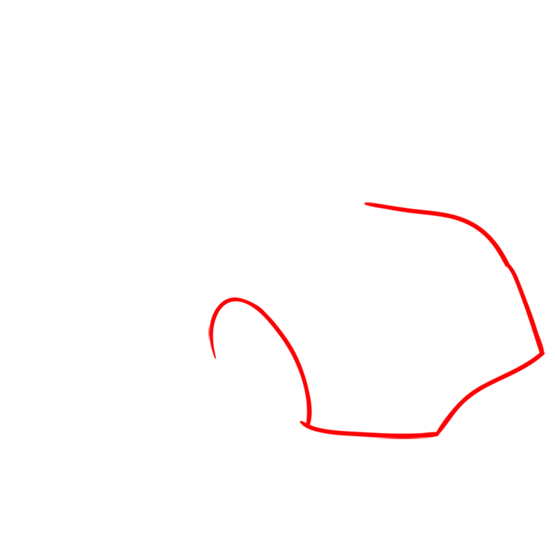 Learn easy to draw Hennessy Venom F5 step 01