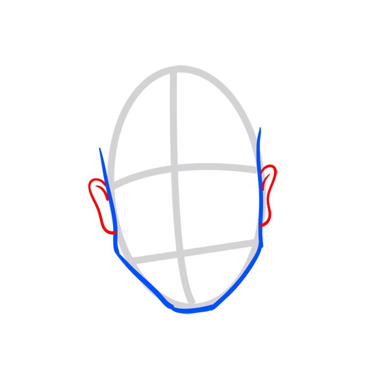 Learn easy to draw Justin Bieber step 03