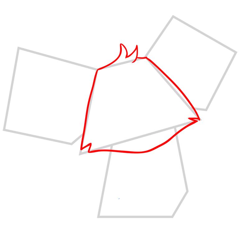 Learn easy to draw Koala step 02