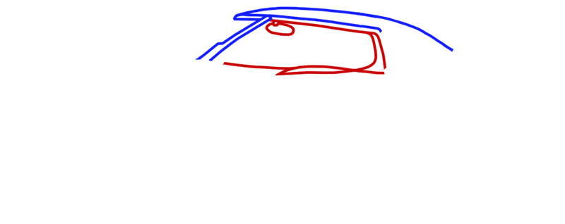 Learn easy to draw Koenigsegg Agera R step 02